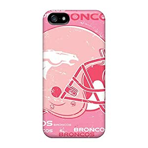 Protective Hard Phone Cases For Iphone 5/5s With Unique Design High-definition Denver Broncos Image JasonPelletier