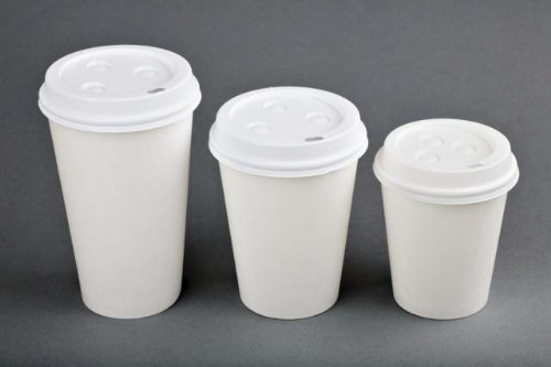 Nafger Sales 100 Paper Coffee Cup/Disposable Hot Cup, 10 oz,