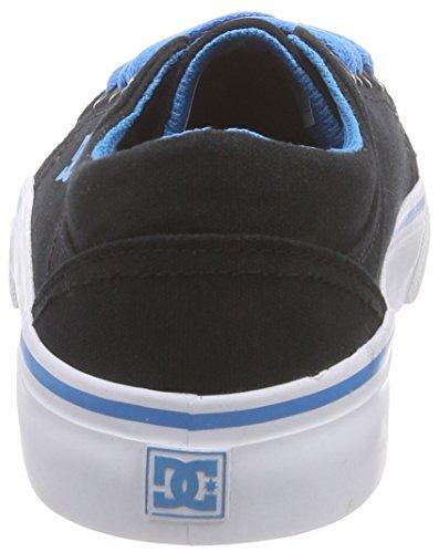 DC Trase TX G Btu Mädchen Sneakers Schwarz (Black/Turquoise)