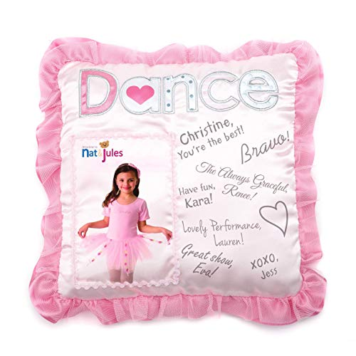 DEMDACO Dance Autograph Pillow