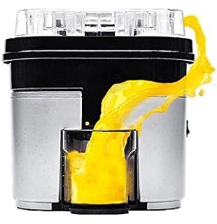 Máquina prensadora eléctrica para hacer zumo de naranja, limón o frutas