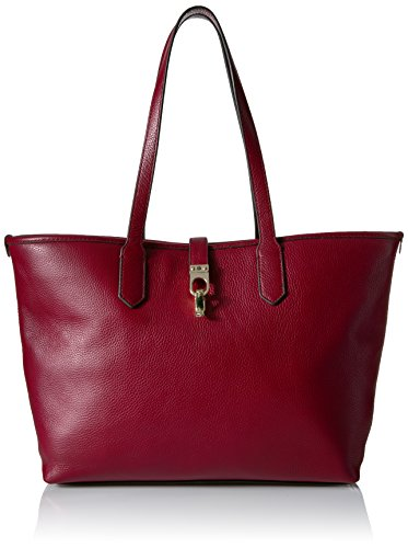 Tommy Hilfiger Kira Leather Shopper, Cabernet