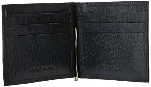 Guess SM2310LEA23 Tarjetero de bolsillo Hombre Azul (Blu)