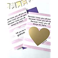 Will You Be My Godmother Poem Scratch Off Card