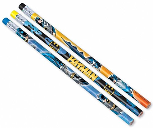 Batman Pencil Favors, Multicolor -