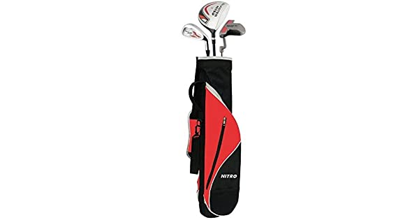 Amazon.com: Nitro Blaster Youth 6piece Juego de golf ...