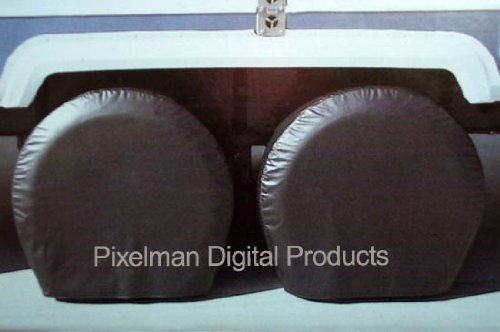 utility trailer tire covers - 1