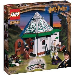 Lego Harry Potter and the hut of the Philosopher's Stone Hagrid 4707 [parallel import - Hut Good