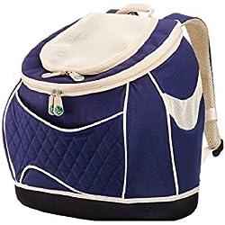 Rucksack Carry Cat Carrier Backpack Navy