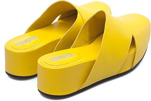 Camper Isamu K200322-002 Sandalias Mujer Amarillo