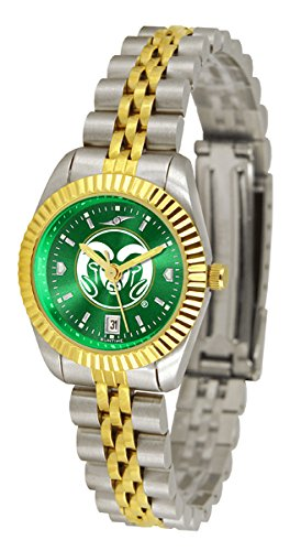 Colorado State Rams Executive AnoChrome Women's Watch by SunTime
