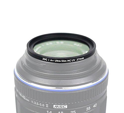 temprato pi/ù volte 37 mm 14-42/mm 1: 3.5‑5.6/EZ Pancake Ares Foto Filtro di protezione MC UV in vetro ottico del Giappone ZUIKO DIGITAL ED ultra slim per Olympus M