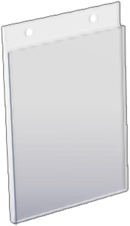 Azar 162722 5-Inch W by 7-Inch H Wall U-Frame, 10 Count