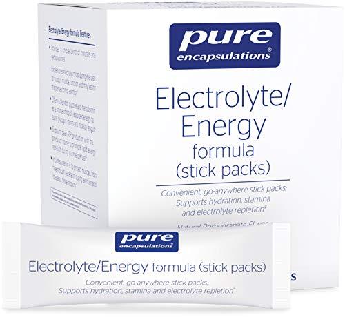 Pure Encapsulations - Electrolyte/Energy Formula - Provides a Balanced Mix to Optimize Physical and Mental Stamina* - 30 Stick Packs