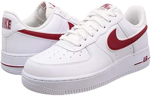 air force 1 gym red white