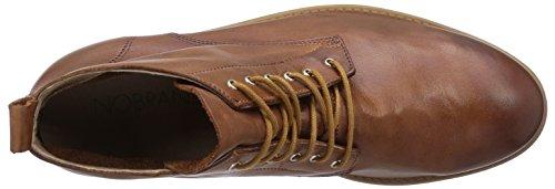 01 Brown Men's length Hawthorn Unlined chukka NOBRAND boots short Cuero ZTFqnaf