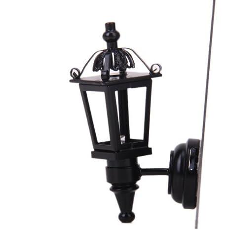 Mini Lampe de Table Lumière LED Forme Boule Maison de poupée Jouet Décor