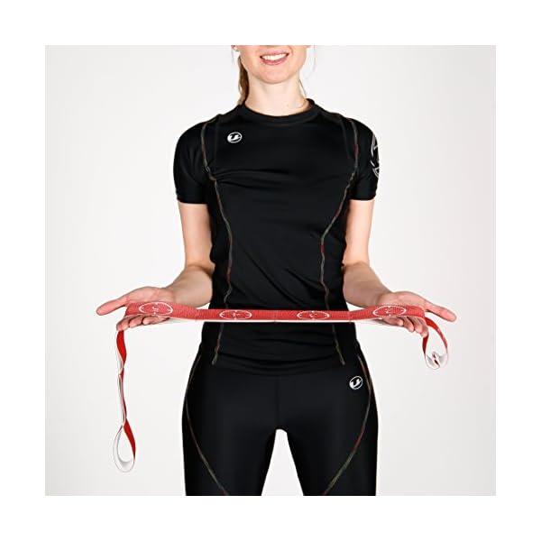 Ultrasport Nastro elastico, fitness per casa e palestra, adatto per pilates, ginnastica e stretching, lavabile in… 6 spesavip