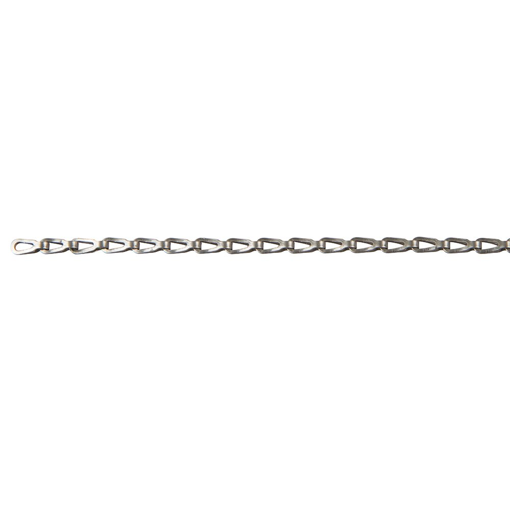 Perfection Chain Products 54753 1/0 Plumber's Chain, Stainless steel Clean, 50' Carton