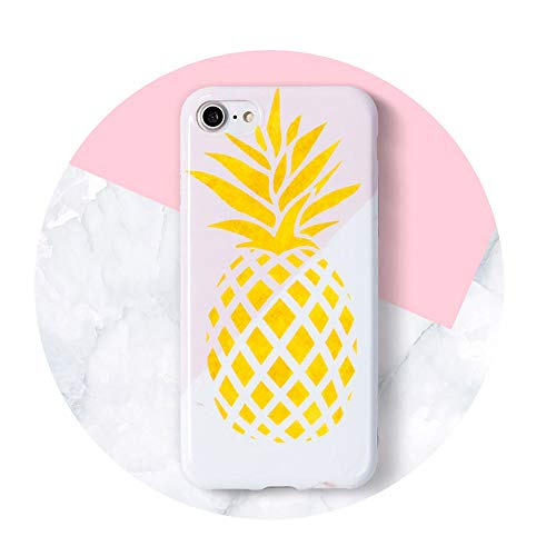 Case Glossy Soft Back Cover for iPhone Pineapple for iPhone 6