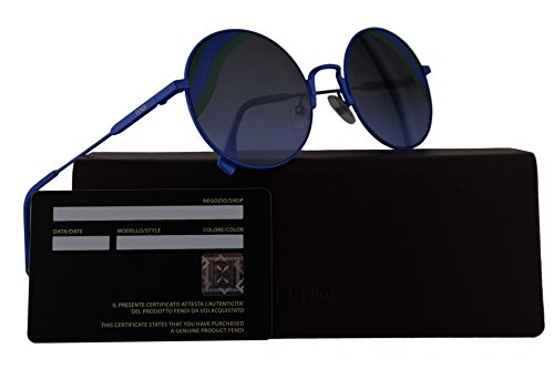 Fendi FF0248/S Sunglasses Blue w/Grey Azure 53mm Lens 0PJP FF0248S FF 0248S FF - Sale Fendi Sunglasses