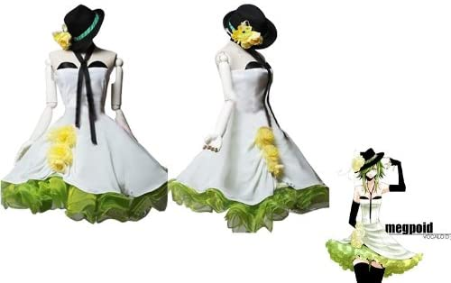 Gumi Vocaloid Cosplay Sunkee para vestidos de con instrucciones ...