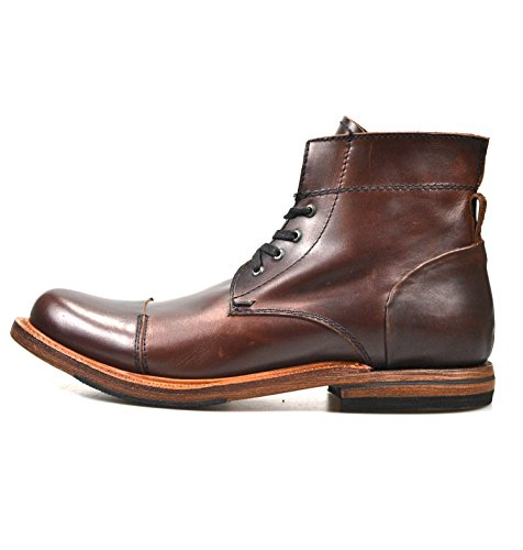 Sutro Footwear Men's Leather Chukka Lace Up Boots Handcrafted, Hand Stitched With Goodyear Welted Sole - Alder II Ciclon - Alder Footwear