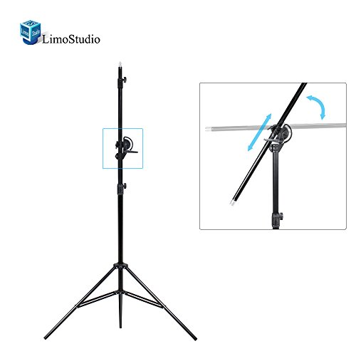 LimoStudio 10ft Two Way Tripod Boom Light Stand for Photo Photography Video Studio, AGG2487 by LimoStudio