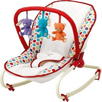 e60db2a20 Baby by Chad Valley Deluxe Bouncer and Rocker  Amazon.co.uk  Baby