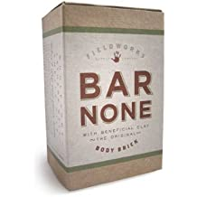Organic Castile Soap Bar for Body and Shampoo Scented with Essential Oils Contains Bentonite Clay. Anti-Bacterial, Anti-Fungal. Long Lasting Clean Fresh Outdoor Scent. BAR NONE