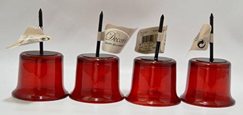Teelichthalter glas fur adventskranz