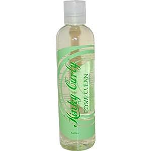 Kinky Curly Come Clean Natural Moisturizing Shampoo Sulfate Free 8 oz