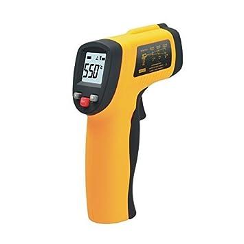 Contever® GM700 Thermomètre infrarouge Non-Contact, plage de mesure: Entre -50 ° C à 700 ° C plage de mesure: Entre -50 ° C à 700 ° C Thermomètre infrarouge numérique