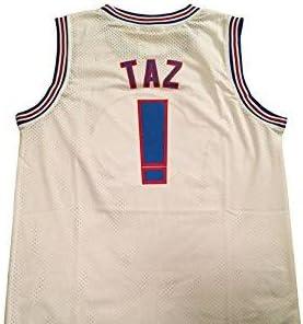 Camiseta de baloncesto Tune Squad de Taz. Camiseta de la película Space Jam, para adultos. Talla estándar americana XLarge: Amazon.es: Deportes y aire libre