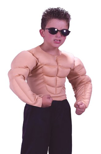 (Halloween FX Muscle Shirt Child Costume - Medium)