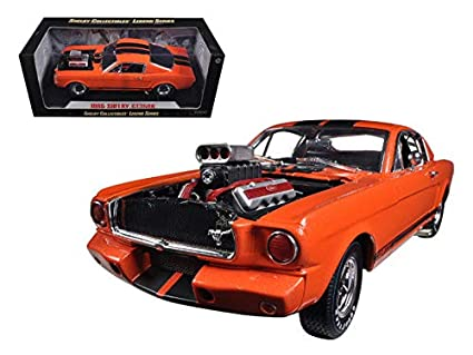 Amazon Com Diecast 1 18 Legend Series 1965 Shelby Gt350r With