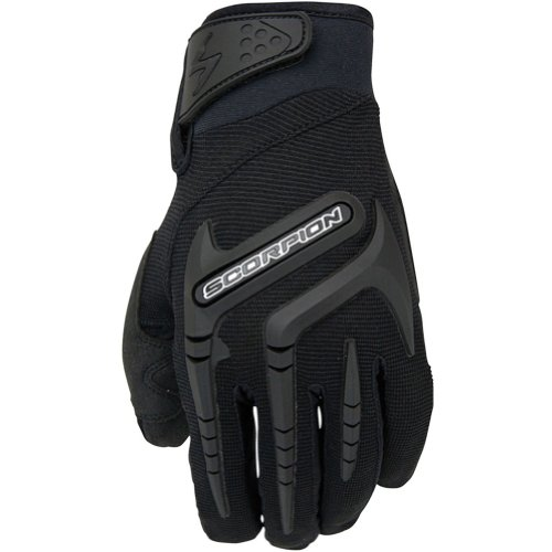 Scorpion Skrub Women's Textile Sports Bike Racing Motorcycle Gloves - Black/Large