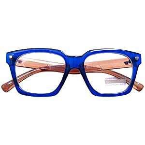 Vintage Inspired Small Nails Square Clear Lens Glasses Nerd Spectacles Classic Eyeglasses