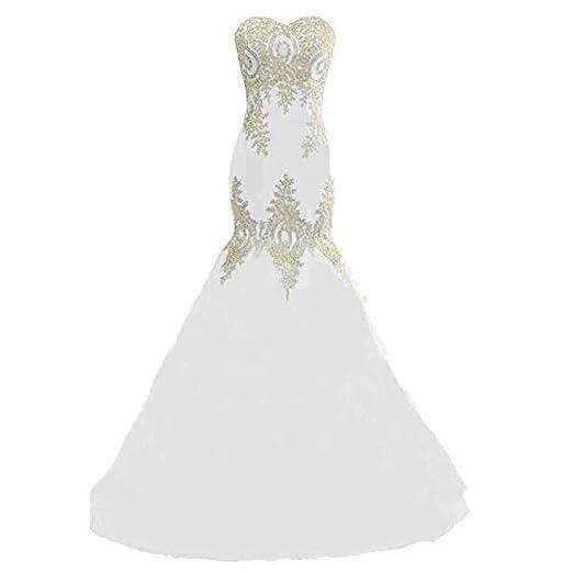Vestido de mujer elegante Vestido de novia de dama de honor sin ...