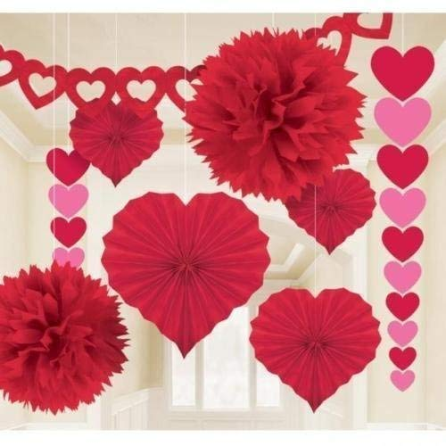 Amscan International Valentines Day Giant Paper Decorating Kit by Amscan