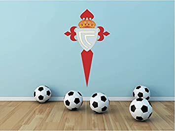 Celta de Vigo FC España Fútbol de adhesivo de vinilo el deporte de decoración para el hogar 63 x 35 cm: Amazon.es: Hogar