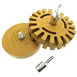 PanzerGlobal Car Decal Remover Wheel Set...