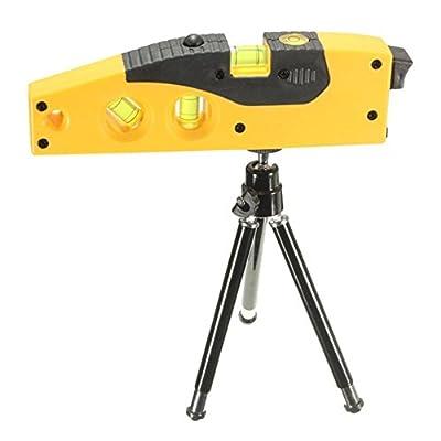Mini Line Laser Level Marker 160 Degrees Laser Range With Adjustable Tripod