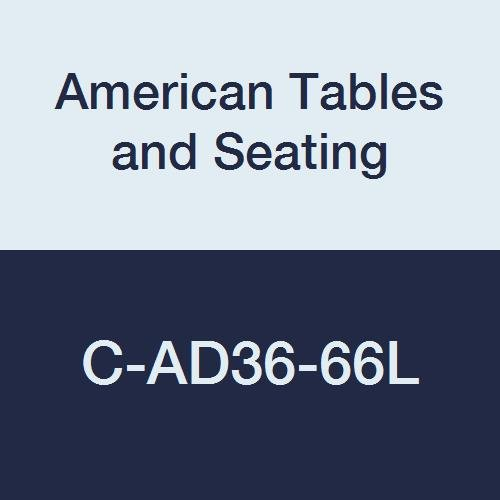 American Tables & Seating C-AD36-66L Floor Glide for Booths, Fits Alex Style Laminate Booth
