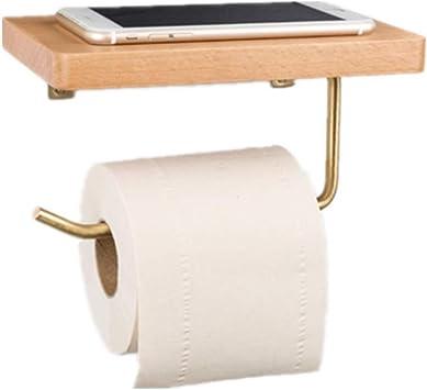 Toilettenpapierhalter Papierhalter Rollenhalter Bad WC Klopapier-Halter Wand