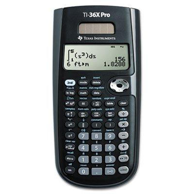 Texas Instruments TI-36X PRO Scientific Calculator, Solar Powered by Texas Instruments
