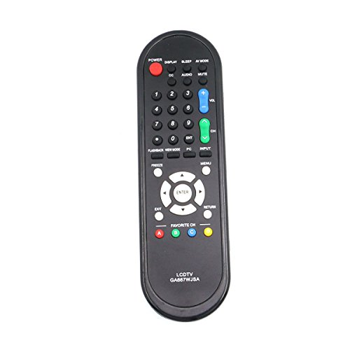 New GA667WJSA Replacement Remote Control for SHARP TV LC-32D