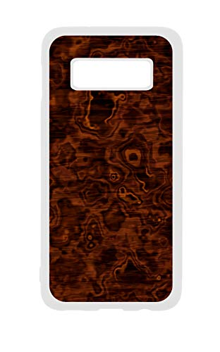 Photo Antique Wood Print Design - - White Rubber Case Cover for The Standard Samsung Galaxy s10 - Samsung Galaxy s10 Accessories - Samsung Galaxy s10 Case