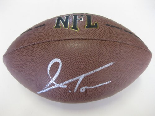(Jordan Todman, Jacksonville Jaguars, Minnesota Vikings, San Diego Chargers, Connecticut, Uconn, Huskies, Signed, Autographed, NFL Football, a COA with the Proof Photo of Jordan Signing Will Be Included)