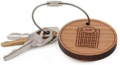 Expositor llavero para nevera, llavero de madera: Amazon.es ...